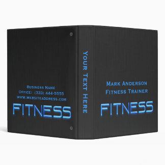 """Fitness Blue, Black Binder 1"""""""