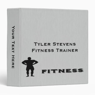 Fitness Bodybuilder Binder 1.5""