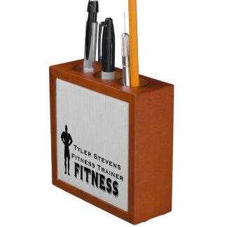 Fitness Bodybuilder Desk Organizer