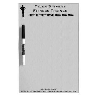 Fitness Bodybuilder Dry Erase Board