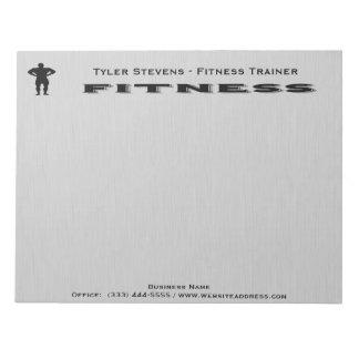 Fitness Bodybuilder Notepad