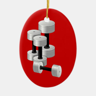 Fitness! by SRF Christmas Ornaments