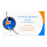 Fitness Center Business Card Templates