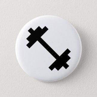 Fitness Center Dumbbell Button