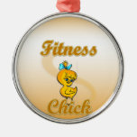 Fitness Chick Ornament