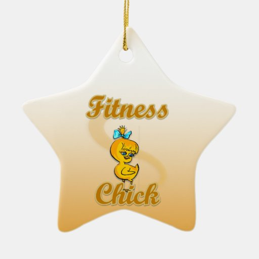 Fitness Chick Ornaments