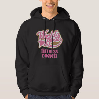 Fitness Coach Pink Gift Hoodie