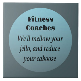 Fitness Coach Will Mellow Your Jello Tile