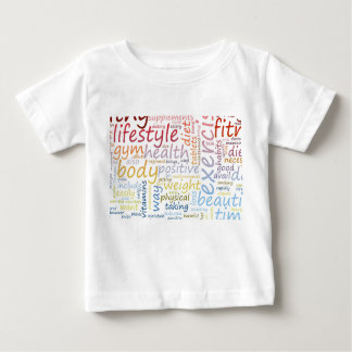 Fitness Concept for Weight Loss and Health Baby T-Shirt
