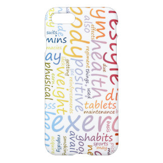 Fitness Concept for Weight Loss and Health iPhone 7 Case