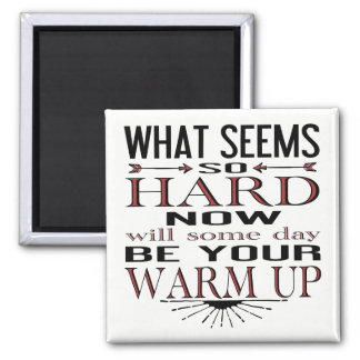Fitness Dance Motivational Quote Magnet