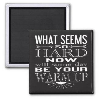 Fitness Dancer Motivational Quote Magnet