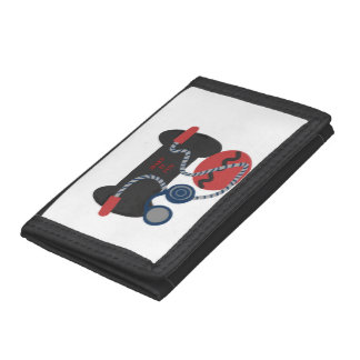 Fitness Devices Nylon Photo Wallet