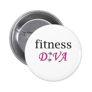 Fitness Diva Button
