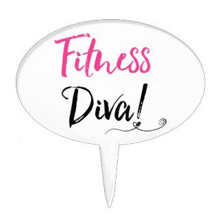"""""""Fitness Diva!"""" Cake Topper"""