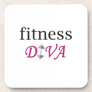 Fitness Diva Beverage Coaster
