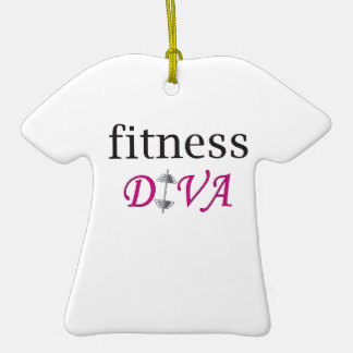 Fitness Diva Ornaments