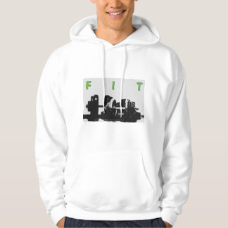 Fitness dumbbell FIT Hoodie