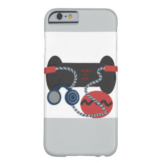Fitness Equipment, iPhone 6 Barely There Case