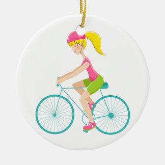Fitness! Exercise - Biking - SRF Ornaments