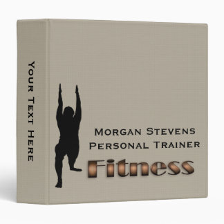 Fitness - Fitness Pose Binder 1.5""