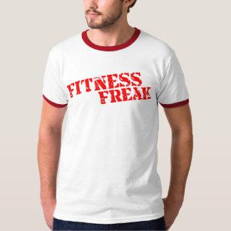 Fitness Freak Red Ringer Bring It T-Shirt