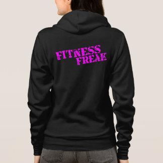 Fitness Freak Women's Fleece Raglan Zip Hoodie