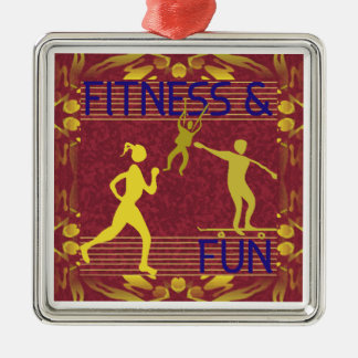 FITNESS & FUN Ornament