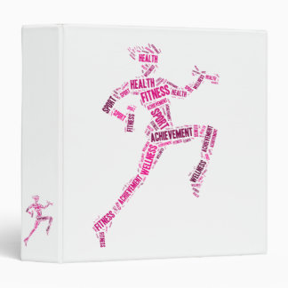 Fitness girl binder