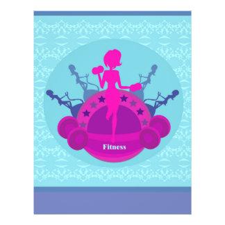 fitness girl training Flyer