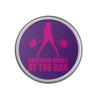 Fitness Girl Workout Gym Motivation Bluetooth Speaker