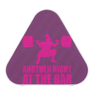 Fitness Girl Workout Gym Speaker