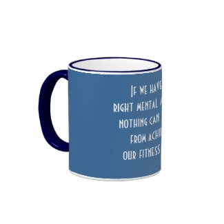 Fitness Goals zazzle_mug