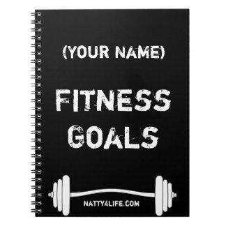 Fitness Goals Notebook