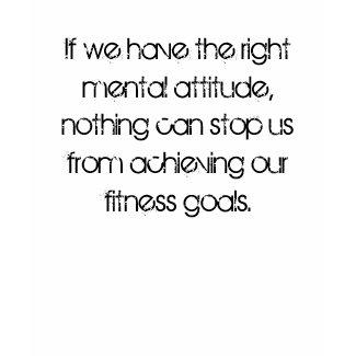 Fitness Goals zazzle_shirt