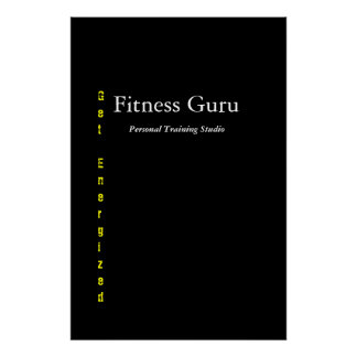 Fitness Guru Poster
