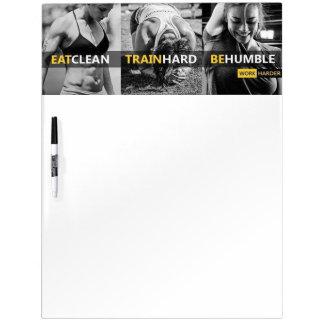 Fitness Gym Motivation Dry Erase Whiteboard