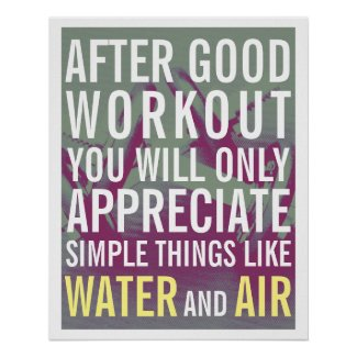 Fitness gym style motivation cover poster