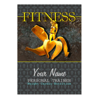 FITNESS III - Business-, Schedule Card Large Business Card