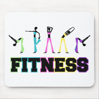 Fitness in Word and Deed Mouse Pad