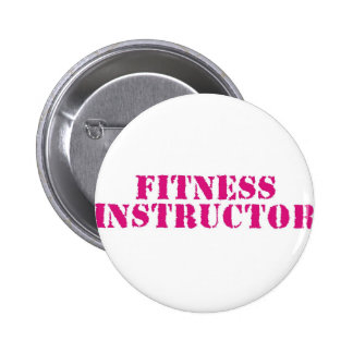 Fitness Instructor/Pink Button