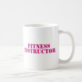 Fitness Instructor/Pink Coffee Mug