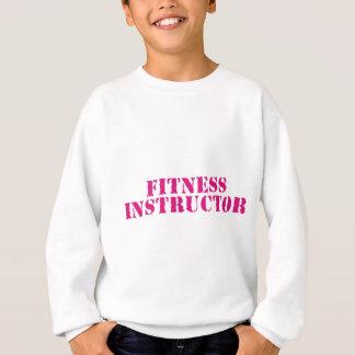 Fitness Instructor/Pink Sweatshirt