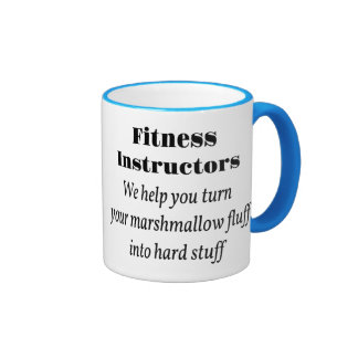 Fitness Instructors Ringer Mug