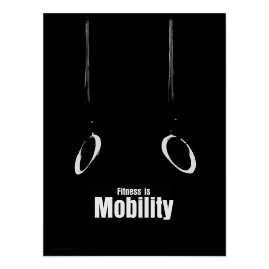 Fitness Is - Mobility Poster