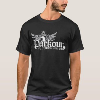 Fitness Is Our Armor (black) T-Shirt