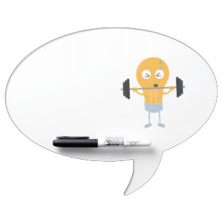 Fitness light bulb with weight Z1zu3 Dry-Erase Board