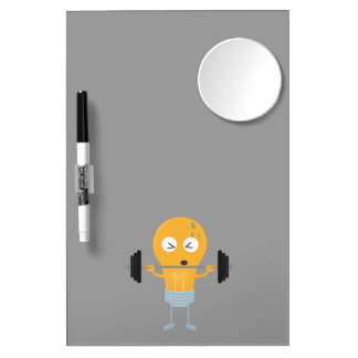 Fitness light bulb with weight Z1zu3 Dry Erase Board With Mirror