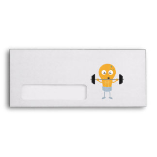 Fitness light bulb with weight Z1zu3 Envelope