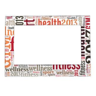 Fitness Photo Frame Magnet